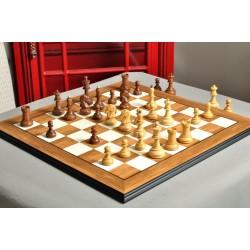 """Ajedrez de madera The Dubrovnik Chess Pieces -  Rey de 3.75"""""""