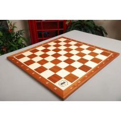 Tablero de ajedrez para torneo de madera de caoba y arce