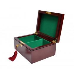 Caja de Ajedrez Premium - Caoba