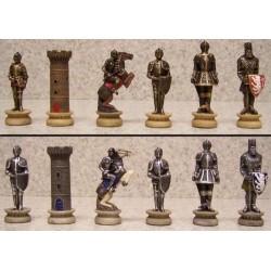 Ajedrez  de resina de figuras Romanas y  Egipcias